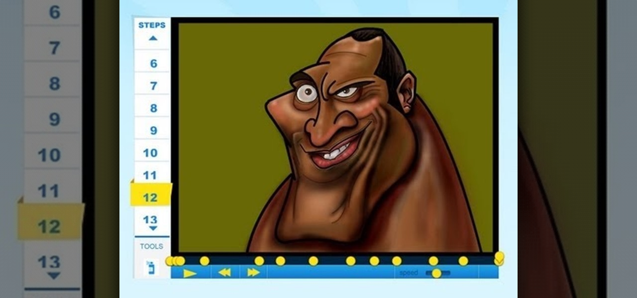 Draw Dwayne the Rock Johnson (the Mysterious Island)