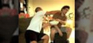 Sucker punch an unsuspecting opponent