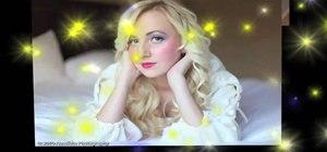 Create a princess perfect Sleeping Beauty makeup look for Halloween