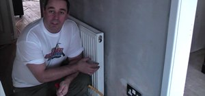 Drain down central heating in your home