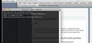 Install Quartz Composer on Mac OSX 10.5 Leopard