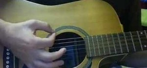 "Play ""I Feel It All"" by Feist on acoustic guitar"