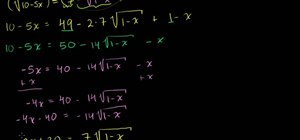 Solve a complicated radical equation in algebra