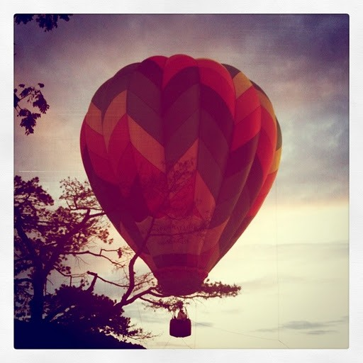 Filter Photography Challenge: Hot Air Balloon
