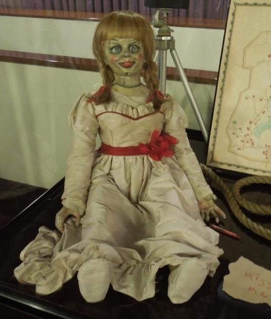 This DIY Annabelle Doll Costume from the Conjuring Will