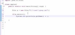 Get file info with the file class in Java programming