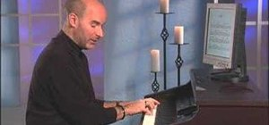 """Play """"Lean On Me"""" on the piano"""