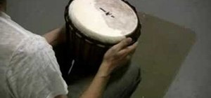 Tune a Djembe African hand drum properly