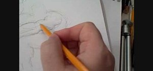 Draw complex figures using stick figures as a base