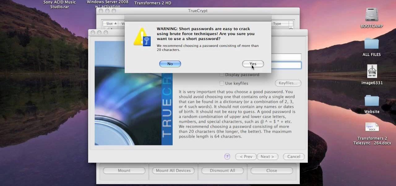 True Crypt Mac