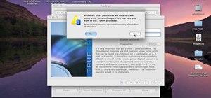 Encrypt files & folders on a Mac with TrueCrypt