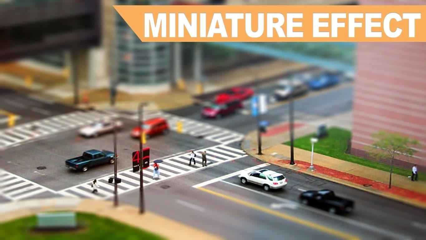How to Create a Miniature Effect in Photoshop