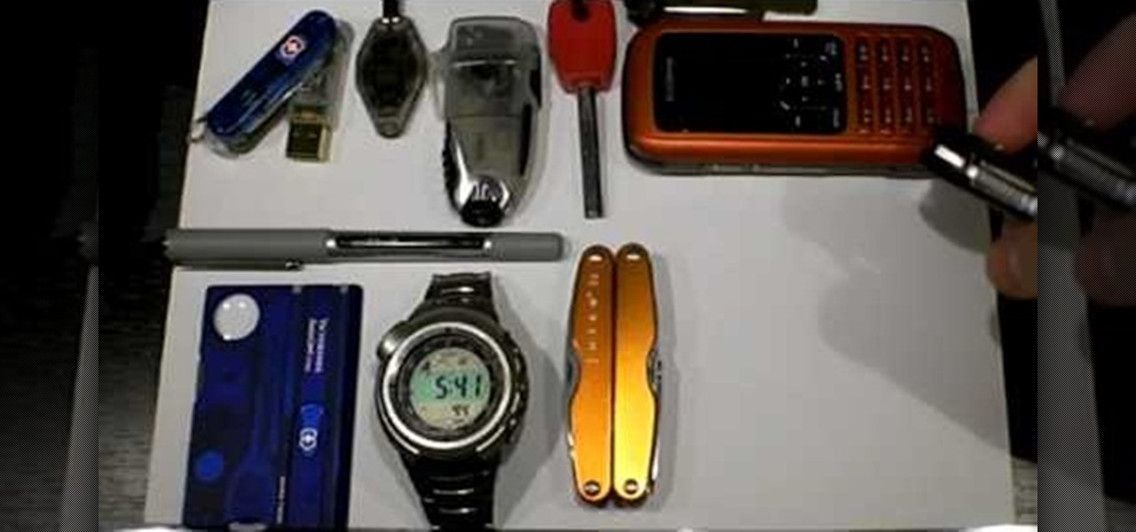 How to Pack an EDC, or every day carry, for urban survival ...