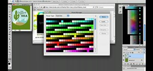 Use & work with custom swatches in Adobe Photoshop CS5