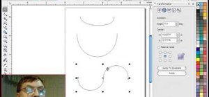 Use the Corel Draw bezier tool for scroll saw patterns