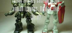 Make and paint your own MSIA Gundam figures