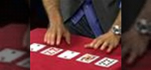 Perform a card trick using mental powers