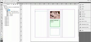 Move and position elements within Adobe InDesign CS5