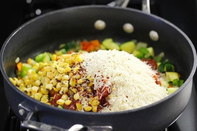 Cook Rice in Casseroles for Less Cleanup Afterward