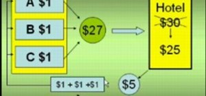 Do the disappearing dollar math trick