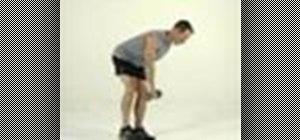 Tone legs with a single-leg & arm Romanian deadlift