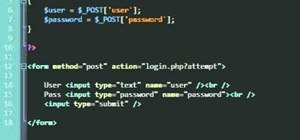 Create a simple login script with PHP programming