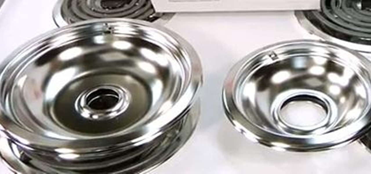 Replace an Oven Chrome Drip Pan Kit
