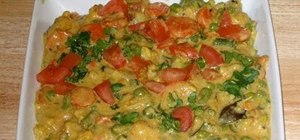 Make vegetable navratan korma