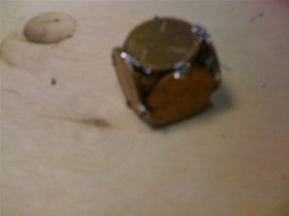 Penny Polyhedra: Cube