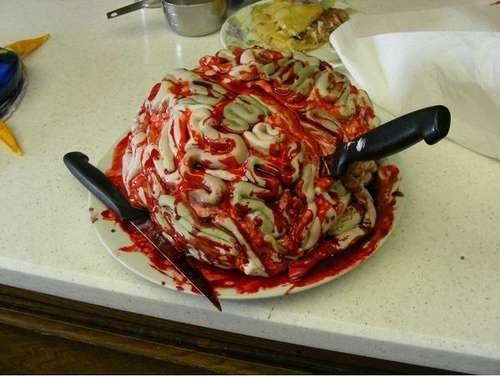 Happy Halloween Brain-Cake!