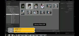 Filter photos in Adobe Photoshop Lightroom 3