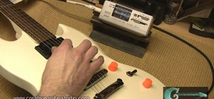 "Set intonation on a ""Gibson Style"" fixed bridge"