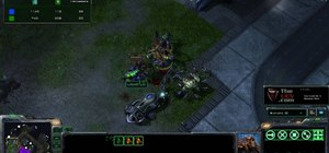 Use the Zerg Queen transfusion ability to win hard fights in StarCraft 2