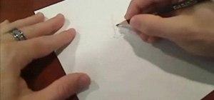 Draw a cartoon man's head