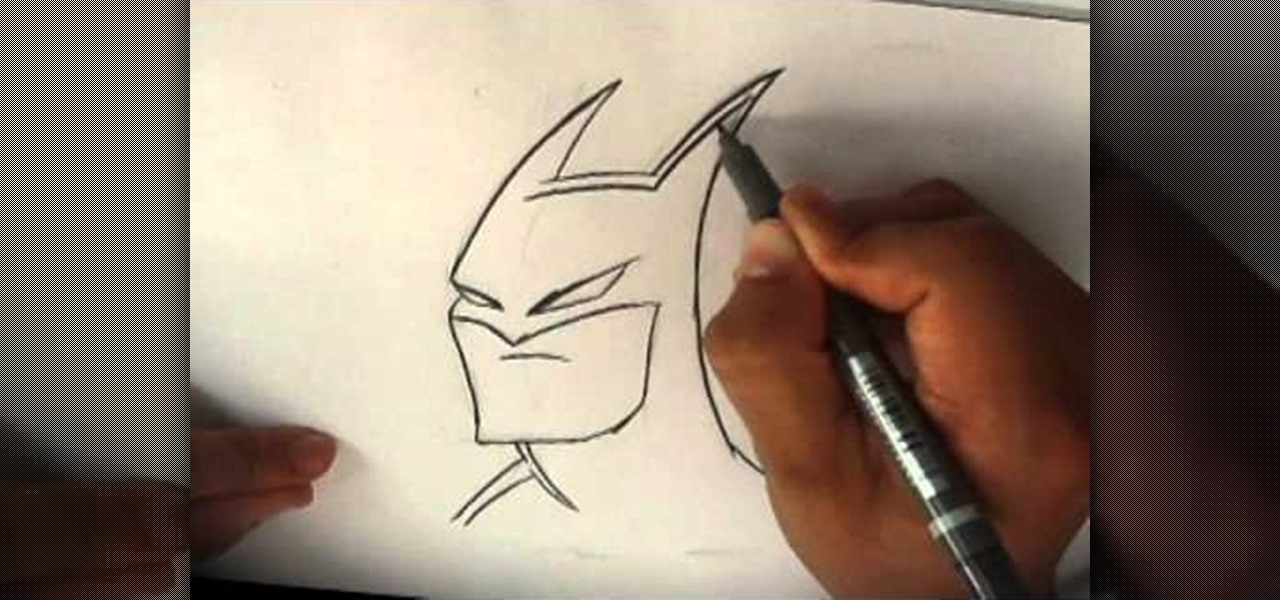 Draw the Dark Knight Batman