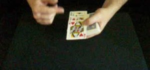 "Perform the ""four queens"" card trick"