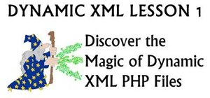 Render dynamic XML files with a PHP loops