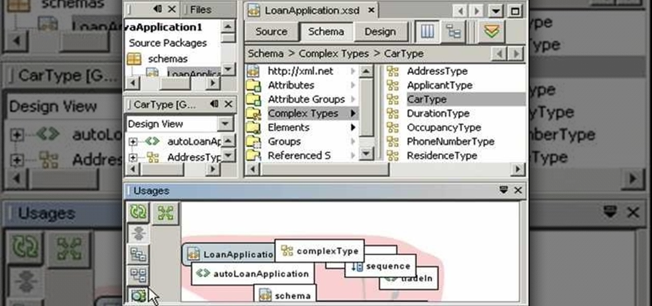 How to Use the XML Schema tools in NetBeans 6 0 « XML / XSLT