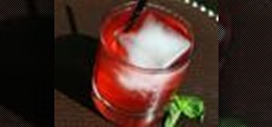 Make a Basil in the Rye drink