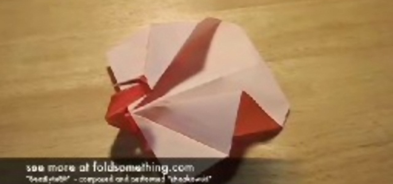 How To Fold An Origami Peacock Or Turkey Origami Wonderhowto