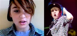 Be Justin Bieber