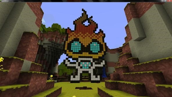 Minecraft Challenge: WonderHowTo Character
