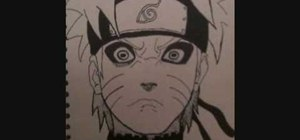 Draw Naruto Sage Mode