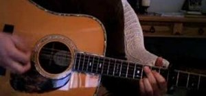 "Play ""Eyes"" by Rogue Wave on the acoustic guitar"
