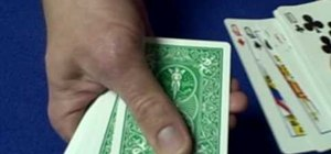 Perform the Aces All Again card trick