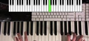"Play ""Sunday Morning"" by Maroon 5 on piano"