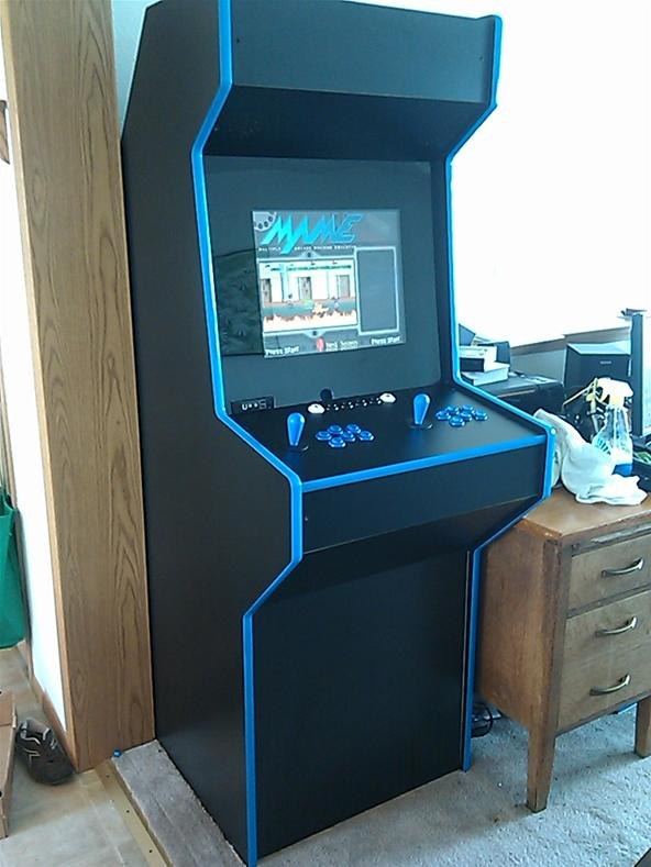 video game cabinet plans 1