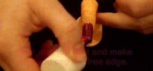 Create nail designs using nail art foils