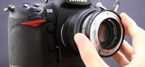 "Reverse the G"" lens on your camera for macro photography"