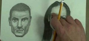 Draw the differences between male and female faces